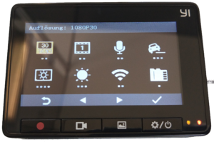 YI Smart Dash Cam Live Display trans