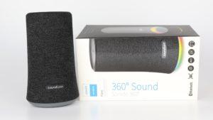 Soundcore Flare Testbericht Anker Bluetooth Lautsprecher Produktfotos 2