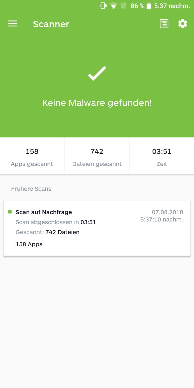 Doogee S55 Testbericht Screenshots Benchmarks 1