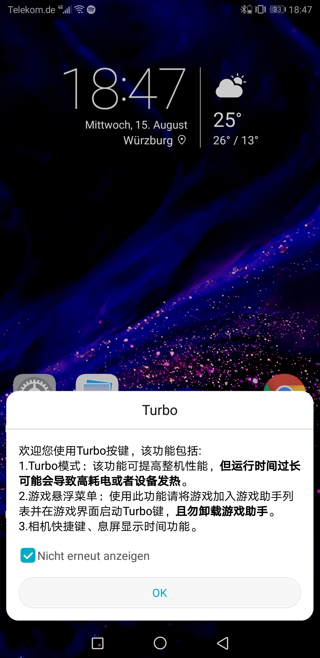 Honor Note 10 Testbericht Phablet Screenshots 4