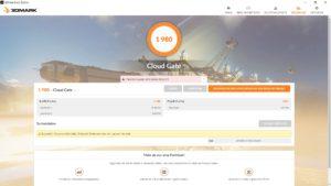 EZBook X4 3DMark CloudGate