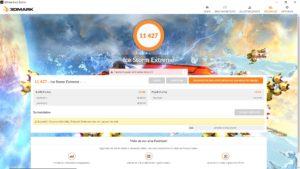 EZBook X4 3DMark IceStormExtreme