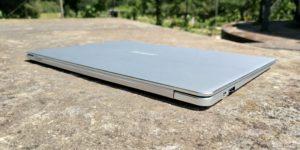 EZBook X4 lef back
