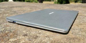EZBook X4 left front