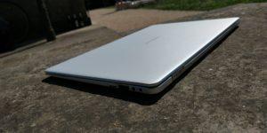 EZBook X4 right back