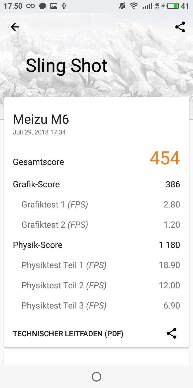 Meizu M6T 3D Mark 1