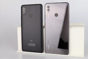 Xiaomi Mi Max 3 vs. Honor Note 10 Vergleich Phablet 2