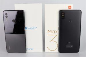 Xiaomi Mi Max 3 vs. Honor Note 10 Vergleich Phablet 6