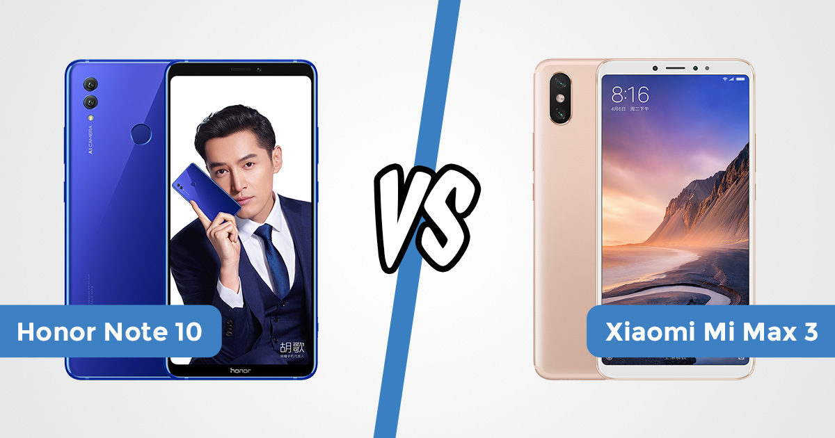 mi max 3 vs honor note 10 featured banner