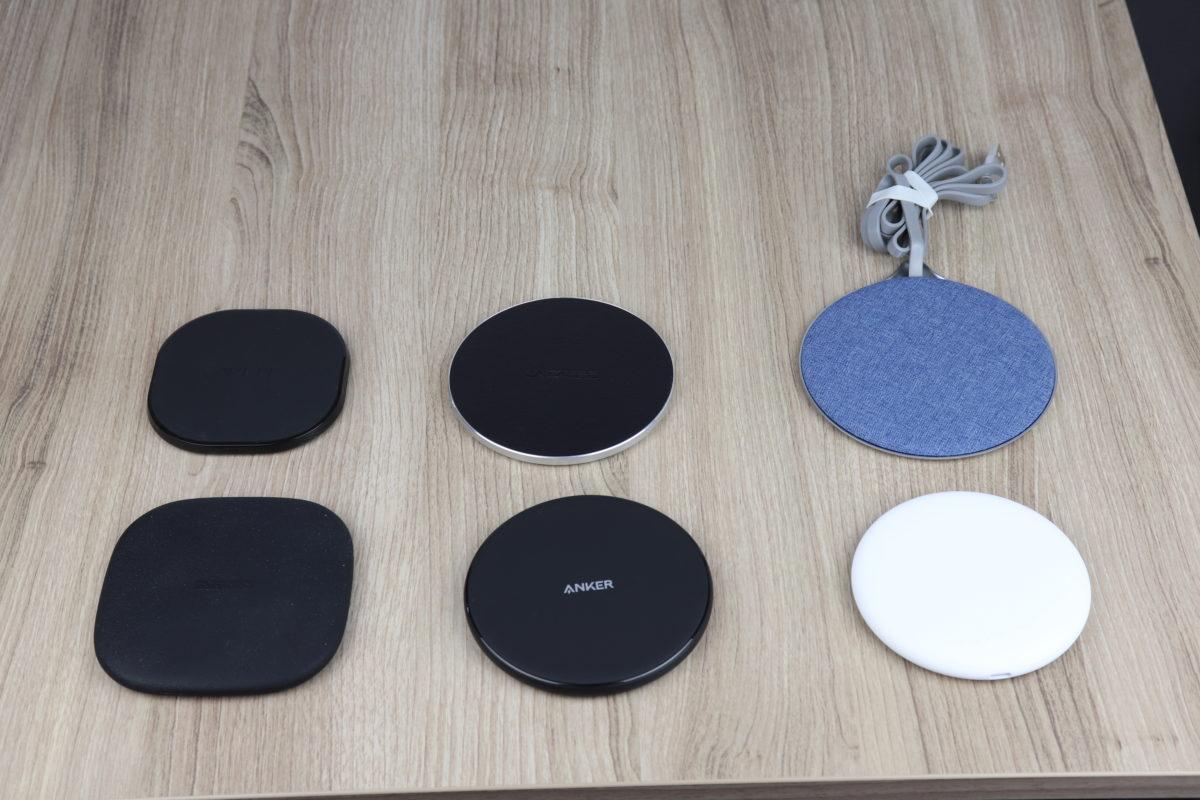 Wireless Charger im Vergleich Aukey Anker RVPower Nillkin