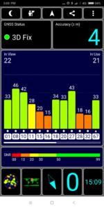 Xiaomi Mi Max 3 GPS Test