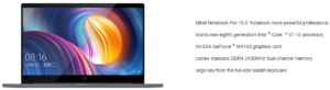 Xiaomi Mi Notebook Pro Mi Gaming Notebook Update 4