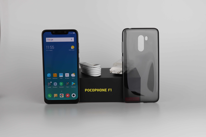 Xiaomi Poco F1 Lieferumfang