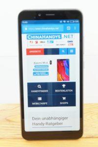 Xiaomi Redmi 6a Testbericht Produktfotos 6