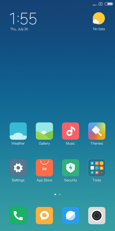 Xiaomi Redmi 6a Testbericht Screenshots System 2