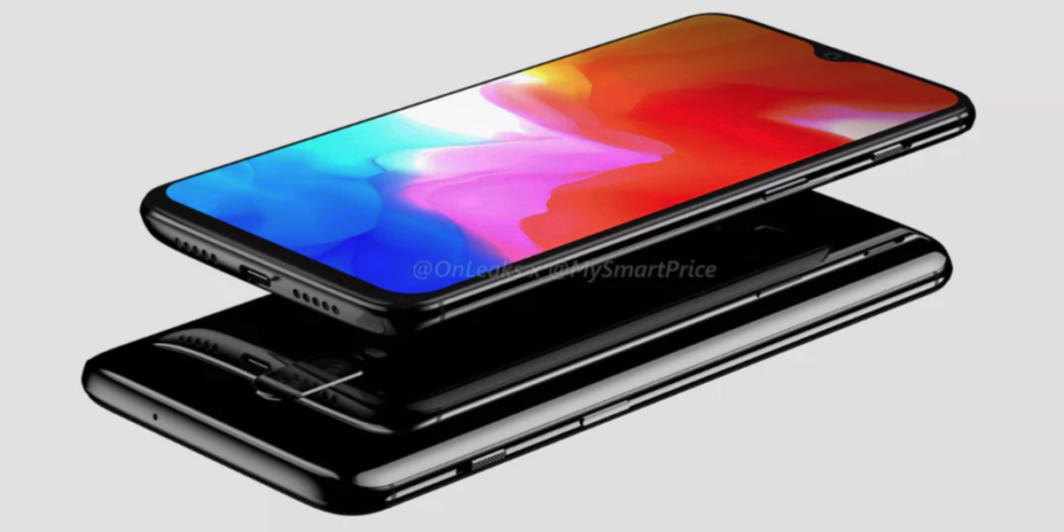 OnePlus 6T Render