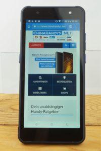 Poptel P10 Testbericht Outdoor Smartphone Produktbilder 5