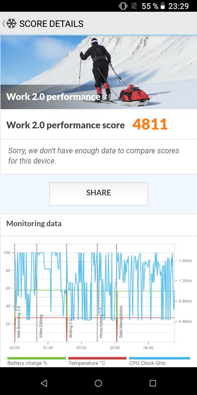 Poptel P10 Testbericht Outdoor Smartphone Screenshots 9