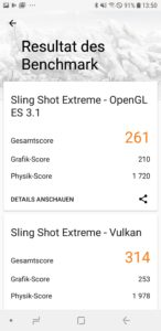 Samsung J6 Duos 3dmark