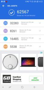 Samsung J6 Duos Antutu