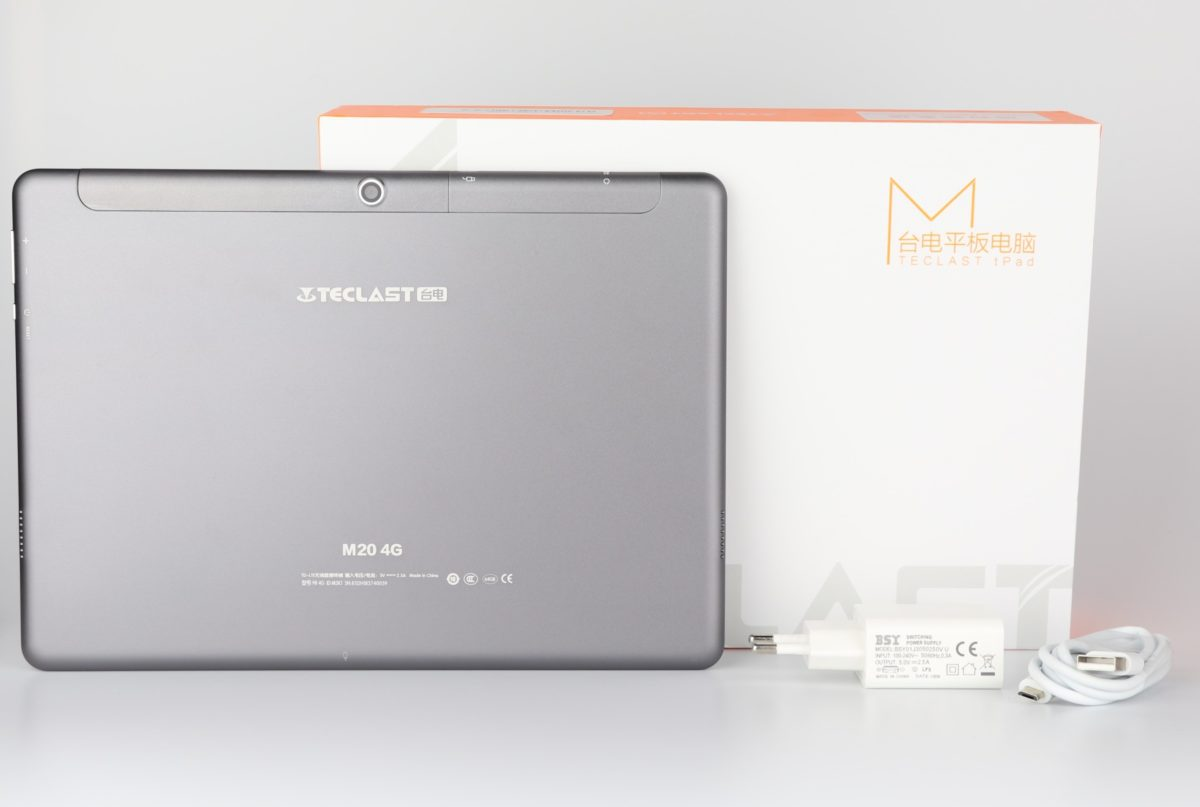 Teclast M20 scope of delivery