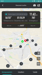 F1 FunDo App Sport Aktivität