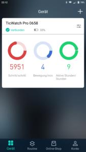 TicWatch Mobvoi App 1