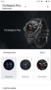 TicWatch Wear App 1