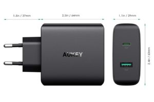 Aukey USB C Ladegerät Inateck 60W USB C Netzteil Testbericht 3