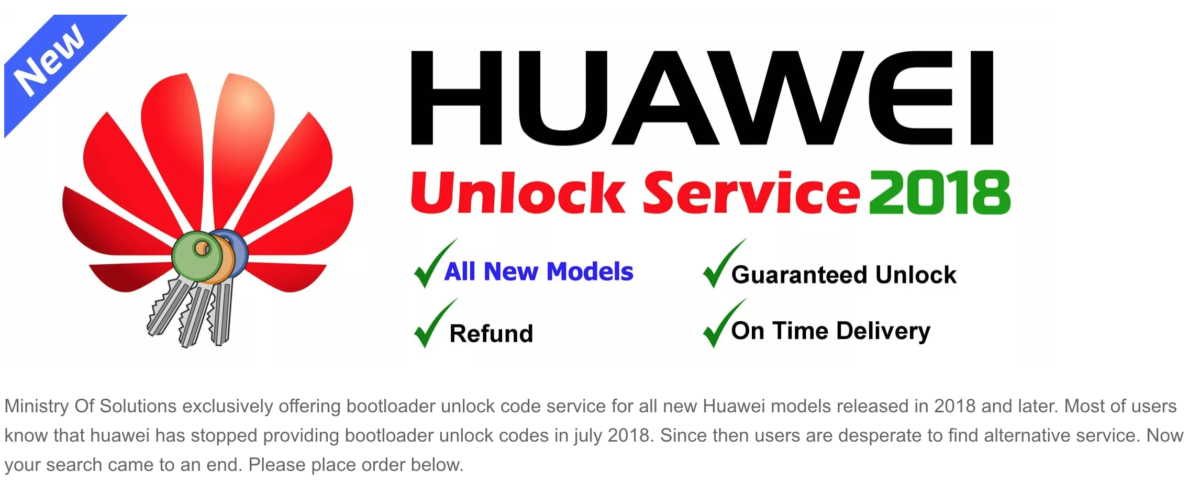 Huawei Bootloader Unlock ministryofsolutions