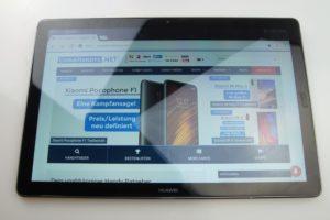 Huawei MediaPad M5 Testbericht Display 2
