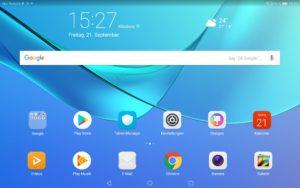Huawei MediaPad M5 Testbericht Screenshots 2