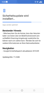 Google Update Nokia 6.1 Plus
