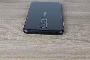 Nokia 6.1 Plus Design und Verarbeitung 3