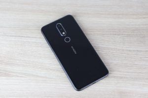 Nokia 6.1 Plus Rückseite 1