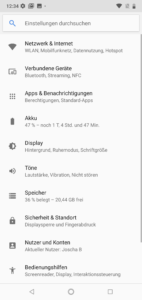 Nokia 7.1 Android 8.1 System 2