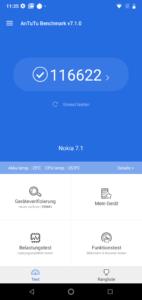Nokia 7.1 antutu