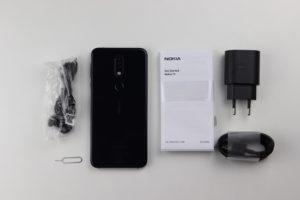 Nokia 7.1 lieferumfang