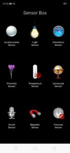 Realme2pro sensor