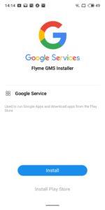 Google Playstore Meizu 16th installieren 6