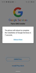 Google Playstore Meizu 16th installieren 7