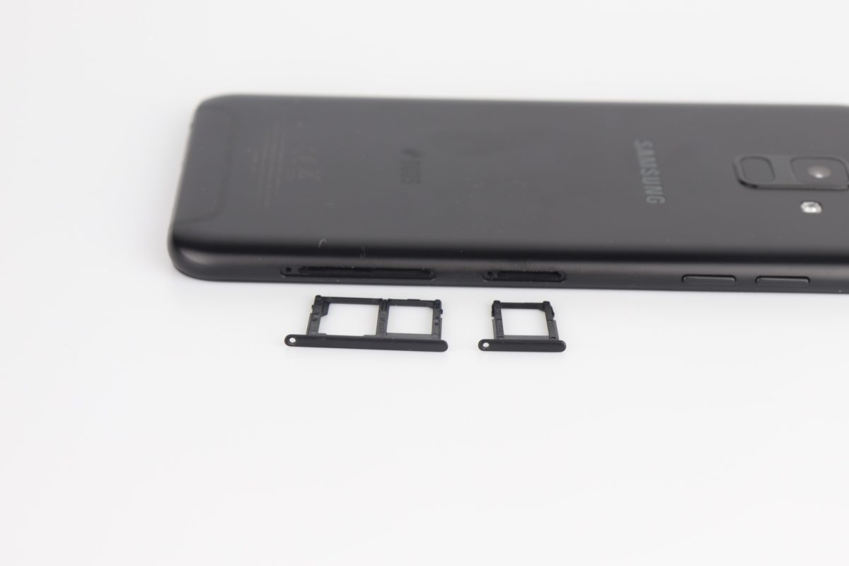 Samsung Galaxy A6 Sim Empfang Micro SD 1