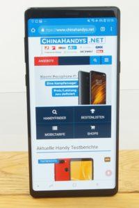 Samsung Galaxy Note 9 Testbericht Produktfotos 12