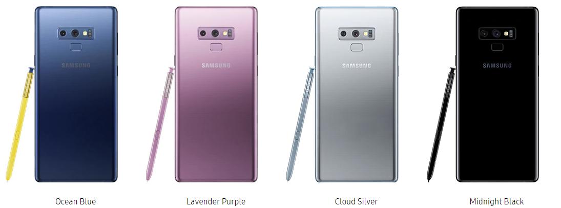 Samsung Galaxy Note 9 Testbericht Sample