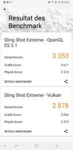Samsung Galaxy Note 9 Testbericht Screenshot 4