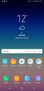 Samsung Galaxy A6 System Samsung Expierence 3