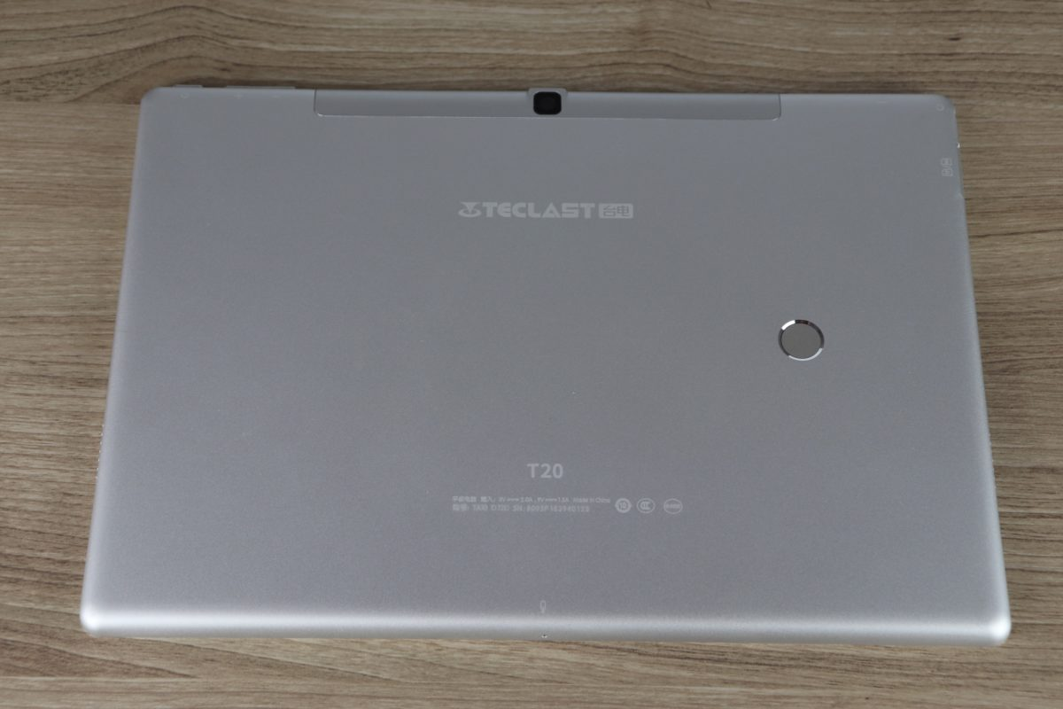 Teclast T20 Tablet Design Verarbeitung 3