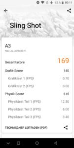 Umidigi A3 3D mark
