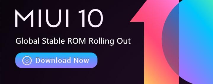 Xiaomi MIUI 10 Global ROM Mi Max 3