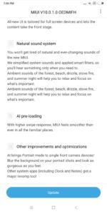 Xiaomi Mi Max 3 MIUI 10 Global Update 2